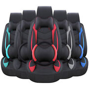 Universal Pu Leather Car Suv Seat Covers Interior Cushion Fits 5-sit Accessories