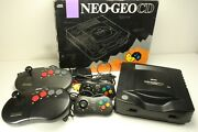 Snk Neogeo Cd Cd-t01 With Boxes Perfect Working Game Ntsc-j Yp5772