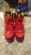 Girls Youth Size 5y Red Jordan Flight Tr 97 Athletic Shoes In Euc 599939-626