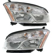 Headlight Lamp Left-and-right For Chevy Lh And Rh Trax Gm2502401c Gm2503401c