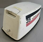 Johnson Evinrude Early 70and039s Seahorse Top Hood Engine Cowling Motor Cover 35 Hp