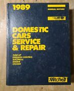 1989 Mitchell Domestic Cars Service And Repairs Gm Tune-up 20js-1146-x14