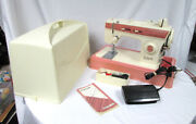 Singer Merritt 2404 Sewing Machine W/ Foot Pedal Hard Case Manual And Accessories