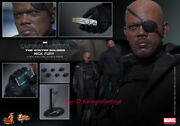 Hot Toys Nick Fury Captain America Mms315 The Winter Soldier 1/6 Collectible