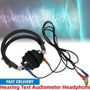 Audiometer Headphone Airconduction Audiometer Hearing Tester Sound Amplifier 3db