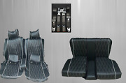 Seat Covers + Back Seat + Seat Belts Zaga Special For Mercedes Sl R/w107