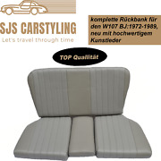 Back Seat Emergency Seats Childand039s Seat For Mercedes Sl R/w107 Gray Top
