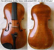 Old German Stainer Violin - See Video - Antique Rare Master バイオリン скрипка 289