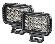 Hella 358154051 Valuefit 450 Led Rectangle Auxiliary Driving Lights 15 High-powe