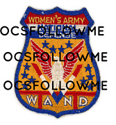 Ww2 Wwii Us Home Front Wand Womenand039s Army National Defense Patch Ssi Seen 2