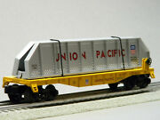 Lionel O Gauge Union Pacific Flatcar W/removable Girders Freight 1923110-f New