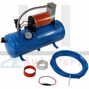 12v Air Compressor With 6 Liter Tank 150psi Dc For Train Horns Tires Motorhome