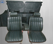 Interior Design For Mercedes W123 Saloon, Dark Green New Upholstered, Limited