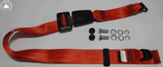 Static Lap Belt For Vw Passat Until 77 Scirocco To 81 30cmband Red