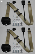 Dreipunkt Automatic Seat Belt Set For Mg Mga Mgb Td And Others Beige 30cm