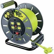 New Extra Long Extension Cord Reel Ideal For Workshop And Outdoor Tools