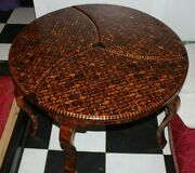 Big Hand-crafted Wooden Table Made Of Thuya Wooddecorative Wood Table For Home