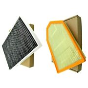 Premium Air Filter + Charcoal Cabin Filter For Challenger Charger Chrysler 300