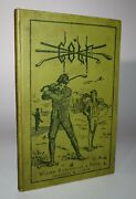 1886 Hints On The Game Of Golf By Horace G Hutchinson First Edition Scarce
