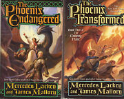 Complete Set Series Lot Of 6 Mercedes Lackey Hardcover Obsidian And Enduring Flame