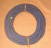 3/16 X 50and039 Foot Coil Navy Blue Nylon Cover Marine Grade Bungee Cord Med Stretch