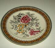 Vintage Wt Copeland And Sons Stoke Upon Trent 2-1902 Plate Gold Trim