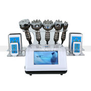 6in1 40k Ultrasonic Cavitation Vacuum Laser 8 Pads Slimming Machine For Home Use