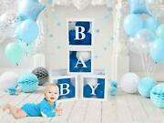 Baby Clear Boxes 4 Pcs 12 Transparent Box Balloon Baby Shower Christmas Decor