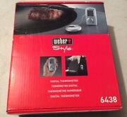 Weber Style Digital Thermometer 6438 Professional Grade Barbecue Beeper Digital