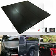 For 2015-18 Ford F150 Lock Hard Solid Tri-fold Tonneau Cover 5.5ft 66 Short Bed