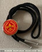 Circle Ten Council Boy Scout Commissioner College Bolo Tie Adult Leader Tx Camp
