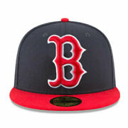 Boston Red Sox Hat Mlb New Navy-red Special Edition Limited Quantity