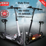48v 36a Battery Electric Scooter 48v 800w Max Over 144km Folding