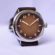 44m Seagull St2130 Italian Military Automatic Men Watches 00931 Steel Wristwatch