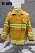 Canadian Department Of National Defence Fire Fighter Jacket Size 7044