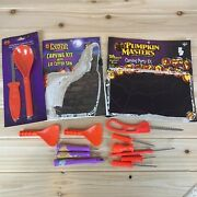Pumpkin Carving Tools New And Used Pumpkin Masters W/ Design Booklets