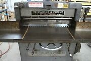 The Chandler And Price 37 Paper Cutter - 110/220