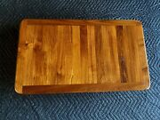 19by 32 Genuine Burmese Teak Yacht/boat/rv Table Natural/oiled Finish