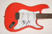 Jimmy Cliff Signed Autograph Fender Brand Electric Guitar - Rebirth Reggae Icon