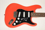 Trey Anastasio Mike Page Signed Autograph Fender Brand Electric Guita Id 6716