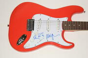 Trey Anastasio Mike Page Signed Autograph Fender Brand Electric Guita Id 6732