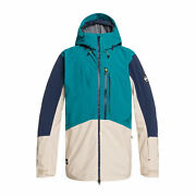 Quiksilver Travis Rice Stretch Mens Jacket Snowboard - Everglade All Sizes