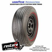Kelsey Tire Inc. Goodyear G70/15 Wt W/rd Stp .350 Polyglas Perf. Tire And03969-and03971