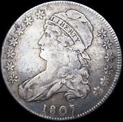 1807 Capped Bust Half Dollar Type Coin --- Rare L@@k --- D514