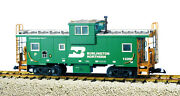 Usa Trains G Scale 12116 Extended Vision Caboose Burlington Northern