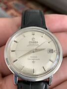 Omega Automatic Chronometer Meister Constellation Two Tone Pie Pan Dial Watch