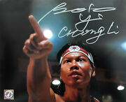 Bolo Yeung Chong Li Autographed Bloodsport You Are Next 8x10 Photo Asi Proof