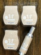 Scentsy Apple Butter Frosting Lot Of 3 Bars And 1 Room Spray New
