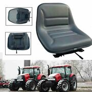 Universal Forklift Seat Great Replacement Seat For Tractor Loader Excavator Us