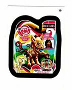 2013 Rare Topps Wacky Packages Ans11 All New My Little Bony 19 Back Variation